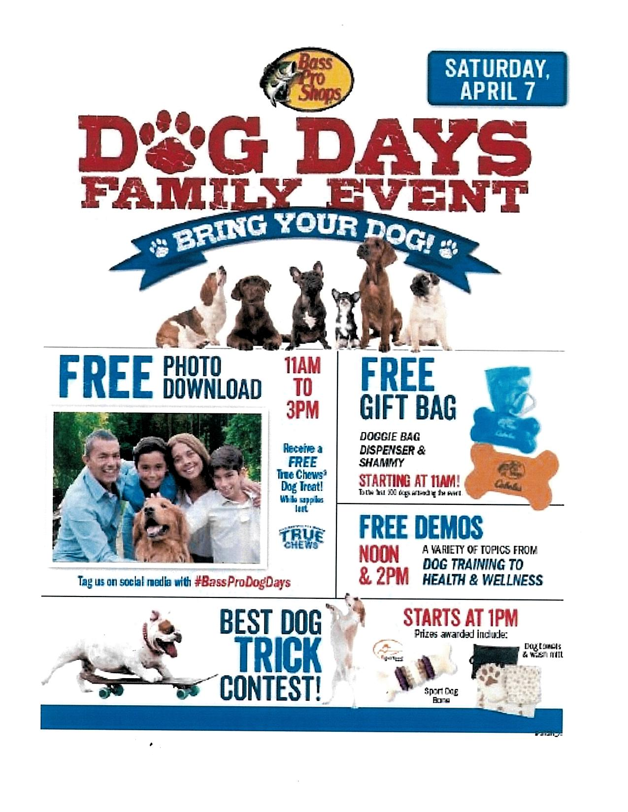 Dog Days Family Event at Bass Pro