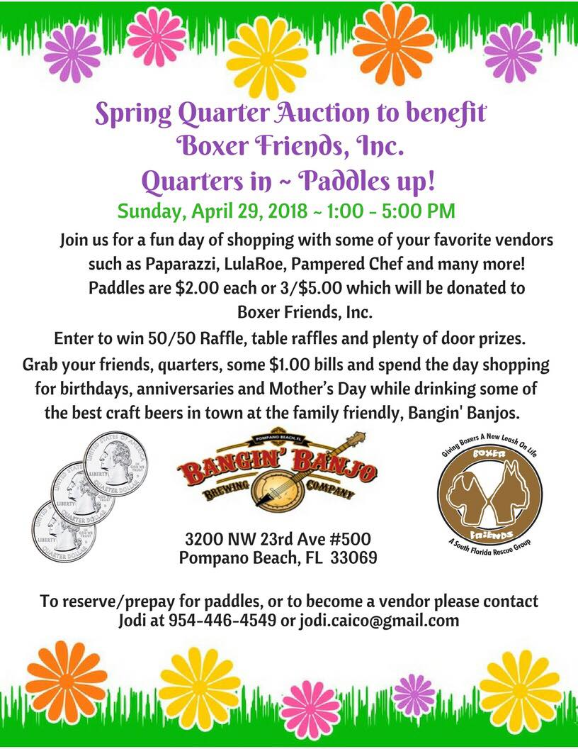 Spring Quarter Auction