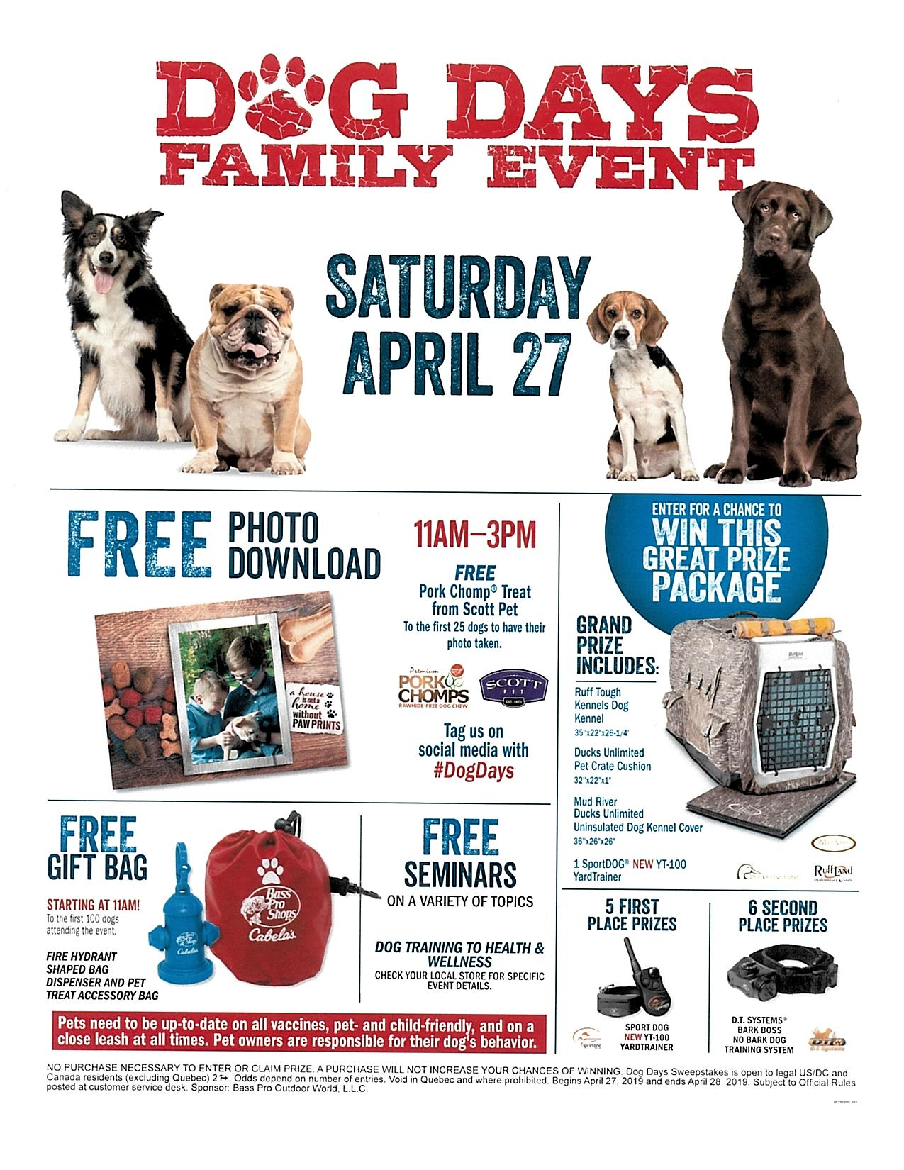 Dog Days Family Event